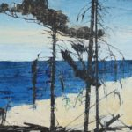 Ffiona LewisAtlantic Pine Ioil on board20 x 24 inches