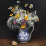 Tina Orsolic Dalessio Wild Flowers oil on canvas 12 x 16 inches