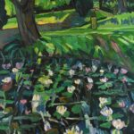 Josephine TrotterLily Pond, Suffolkoil on canvas32 x 24 inches
