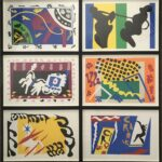 Henri Matisse'Jazz'published in Paris 2005edition of 1300facsimile of his 1947 edition27 x 19 inches (each)