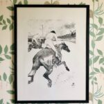 Henri de Toulouse-LautrecLe Jockey, 1899a limited edition of 300 facsimile lithographprinted on high quality papersigned with monogram & dated in the stone29 x 22 inches