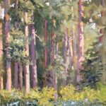 James PowerThe Pines at Tunstalloil on canvas16 x 12 inches